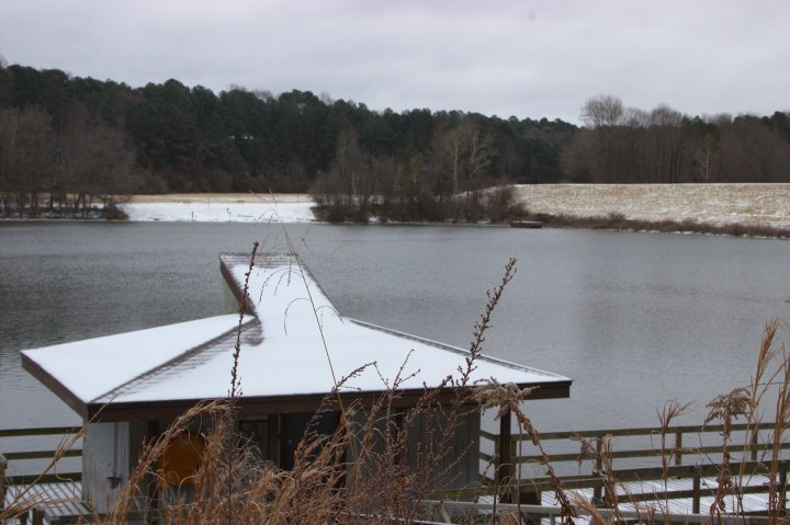 Shelley Lake Snow